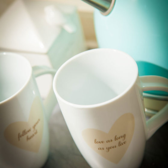 Mugs of tea retirement living